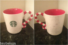 Starbucks Christmas Europe 2013 Logo* Candy Cane Mug Cup Xmas 3oz- New gift!