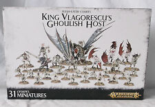 Warhammer Age of Sigmar Flesh-eater Courts King Vlagorescu's Ghoulish Host-NIB