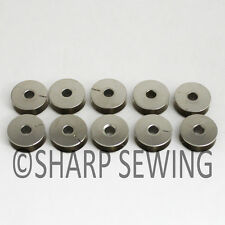 10 SMALL BOBBINS FITS SINGER 29-1 29-4 29K 29K71,73 CLASS SEWING MACHINES #8604