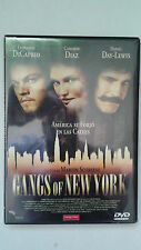 "DVD ""GANGS OF NEW YORK"" MARTIN SCORSESE LEONARDO DICAPRIO"