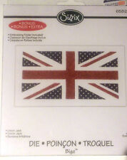 sizzix bigz die-union jack with bonus embossing folder RRP £17.99