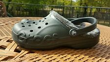 Crocs Dasher Faux Fur Lined Clog Shoe 10/12 Slippers