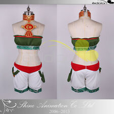 EE0229AA Soul Calibur 2 Talim Cosplay Costume with ornaments