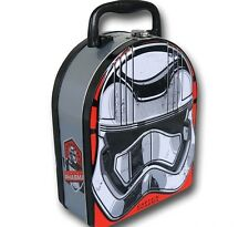 Star Wars Episode VII The Force Awakens Captain Phasma Arched Lunch Tin NEW