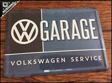 VOLKSWAGEN - VW Garage Service Metal Postcard Mini Tin Sign Novelty Card BUS VAN