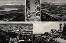 Uetliberg Üetliberg Schweiz Zürich ~1950/60 Berghaus Uto-Kulm Mehrbild-AK Berge