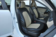 IGGEE S.LEATHER CUSTOM SEAT COVER FOR 2009-2015 KIA OPTIMA 13COLORS AVAILABLE
