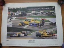 Andrew Kitson Benetton Formula 1 Equals Two Hundred 1991 Print