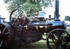 Vintage Kodak Kodachrome Slide Negative - Steam Engine Tractor, 1991