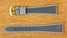 Gray W. Germany Tapered Genuine Leather Vintage Watch Band 20mm NOS Speidel 70s