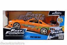 JADA 1:24 FAST & FURIOUS BRIAN'S TOYOTA SUPRA ORANGE DIECAST CAR 97168