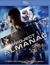 Project Almanac (Blu-ray Disc, 2015) NEW