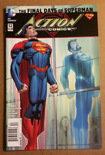 """Action Comics #52 new 52 """"Death"""" of Superman News Stand Variant VF/NM $4.99"""