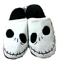 Jack Skellington Nightmare Before Christmas Slippers Medium 7/8 NWT