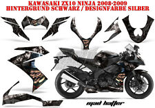 AMR RACING DEKOR GRAPHIC KIT KAWASAKI ZX-6R 636/10R/Z-1000 SX MAD HATTER B