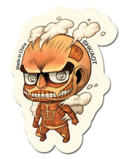 **License** Attack On Titan SD Colossal Titan Sticker #55301