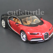 Maisto Bugatti Chiron 1:24 Diecast Model Toy Car 31514 Red / Black