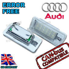 Audi A4 A5 B6 B7 B8 Convertible License Number Plate Light S Line 18 LED Canbus