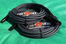 15 Ft Pig-Hog Microphone Mic  XLR 8mm Tour Grade Quality Cable, 2-Pack