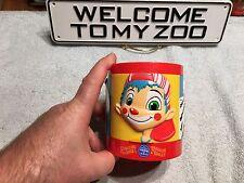 Vintage Ringling Bros Barnum Bailey Circus 3D Elephant Tiger souvenir Cup Mug