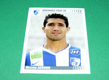 N°100 NASSIM AKROUR GRENOBLE FOOT 38  PANINI FOOT 2009 FOOTBALL 2008-2009
