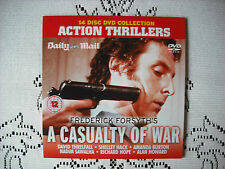 DMAIL PROMO DVD -FREDERICK FORSYTH`S - A CASUALTY OF WAR  - THRILLER