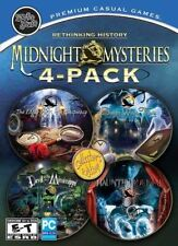 4 NEW PC Midnight Mysteries - Poe+Salem Witch+Devil Mississippi+Haunted Houdini