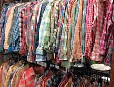 LOT 30 FLANNEL SHIRTS VINTAGE 70s THROUGH CONTEMPORARY COTTON PLAID WORK