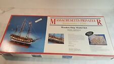 Rattlesnake Mass. Privateer wooden ship model kit by Model Shipways