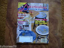 Better Homes And Gardens Decorative Woodcrafts Magazine August 1997