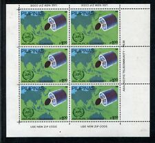 Philippines 2008, MNH, Asia-Pacific Tele-community - 10th Ann Sheet 1989