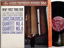 BORODIN STRING QUARTET Shostakovich Qrt 4,8 MERCURY SR 90309 NM RFR1 audiophile