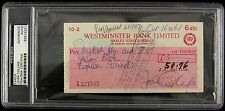 "1961 Joan Collins ""Dynasty Alexis Carrington Colby"" Auto Check (PSA/DNA Slabbed)"
