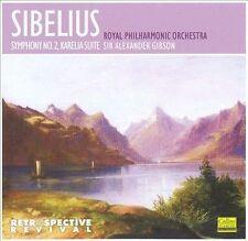 Sir Alexander Gibson, Royal Phil, Sibelius: Symphony No.2 in D Major, Op. 43; Ka