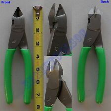 New Snap On Green Handle Vinyl Soft Grip Diagonal Cutter Pliers 87ACF - Old 87CF