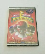 Mighty Morphin Power Rangers Original Pilot Episode DVD SDCC Promo LE Of 5K- New