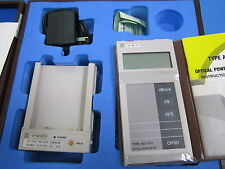 Ando AQ-2101 Optical Power Meter w/ AP-2610 Charger & Leather Case NO SENSOR