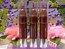 [CLINIQUE] 3X Chubby Stick Shadow Tint For Eyes (1.2g) #02 Lots O'latte NEW! F/P