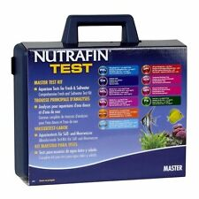 Nutrafin master kit test pour le sel et l'eau douce tropical aquarium ph ammoniac