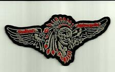 INDIAN CHIEF Scout MOTORCYCLE BIKER JACKET PATCH CLOTH CAFE RACER HOG Chopper #
