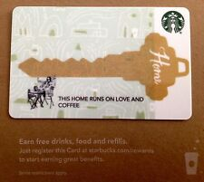 """STARBUCKS GIFT CARD - CO BRANDED  """"REAL ESTATE - KEY""""COLLECTABLE & NO CASH VALUE"""