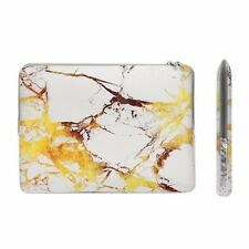 "13-Inch White/Gold Marble Zipper Sleeve for 13"" Macbook/ Air / Pro / Chromebook"