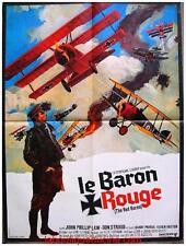 LE BARON ROUGE Affiche Cinéma ORIGINALE / Movie Poster Roger Corman