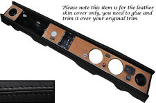 BLACK STITCH  DASH DASHBOARD LEATHER SKIN COVER FITS TRIUMPH DOLOMITE 1300