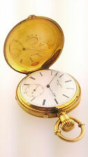 James Nardin  of Le Locle 18k Yellow Gold Hunters Pocket Watch