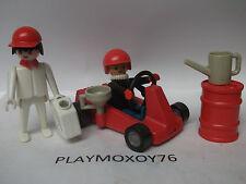 TIENDA PLAYMOXOY76. COCHE DE CARRERAS DE PLAYMOBIL ANTIGUO REF. 3523.
