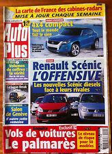 AUTO PLUS du 28/02/2006; Palmarès vols de voitures/ Logan Break/ Salon de Genève