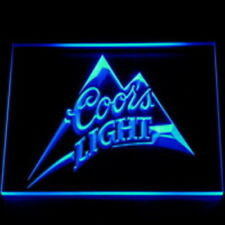 Coors light led neon light sign  happy hour beer bar  pub