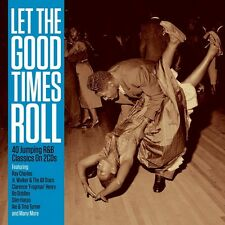 Let the Good Times Roll-Ray Charles, Richard Lewis, Bo Diddley - 2 CD NUOVO