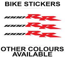 3x Honda CBR 1000RR Fireblade stickers bike motorcycle decals vinyl